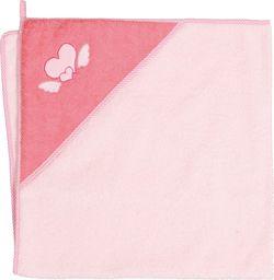 Ceba Ręcznik dla Niemowlaka Serduszka Różowe 100x100 Ceba Baby