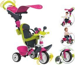 Smoby SMOBY Rowerek Baby Driver Komfort Różowy uniwersalny