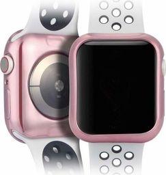 Dux Ducis Etui elastyczne Plating różowe Apple Watch 4 (44mm) 2 szt.
