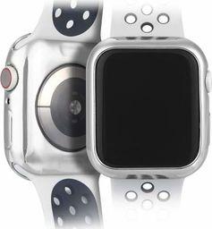 Dux Ducis Etui elastyczne Plating srebrne Apple Watch 4 (44mm) 2 szt.
