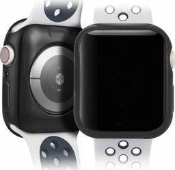 Dux Ducis Etui elastyczne Plating czarne Apple Watch 4 (44mm) 2 szt.