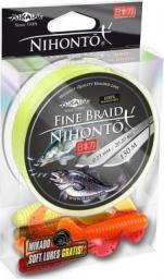 Mikado Plecionka Nihonto Fine Braid  025 Fluo 150M + Gratis