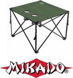 Mikado Składany Stolik Karpiowy / Zielony