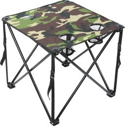 Mikado Składany Stolik Karpiowy (Camouflage) (49 X 49 X 45 Cm)
