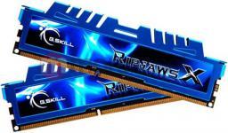 Pamięć G.Skill RipjawsX, DDR3, 16 GB, 2400MHz, CL11 (F3-2400C11D-16GXM)