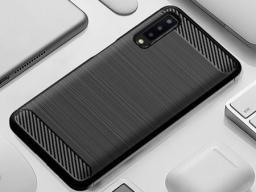 Carbon Etui Carbon do Huawei Y6 2019 czarny uniwersalny