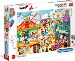 Clementoni Puzzle 60 elementów Luna Park