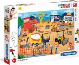 Clementoni Puzzle 60 elementów Super Kolor - Ludzie w pracy