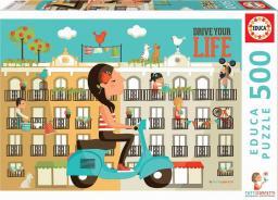 Educa Puzzle 500 elementów Prowadź swoje życie