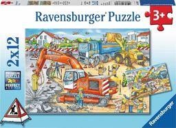 Ravensburger Puzzle 2x12 elementów - Plac budowy