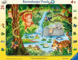 Ravensburger Puzzle 24 elementy - W dżungli