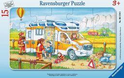 Ravensburger Puzzle 15 elementów - W ambulansie