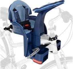 WeeRide Fotelik rowerowy Safe Front Deluxe Denim