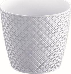 Prosperplast Doniczka Orient biała 12,8cm (DOR130-S449)