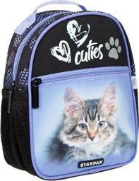 Starpak Plecak szkolny Kitty czarny