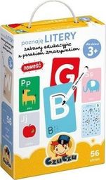 Bright Junior Media Poznaję Litery Zabawy Edukacyjne Z Pisakiem Zmazywakiem