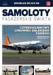 DOUGLAS DC-4/C-54 SAMOLOTY PASAŻERSKIE ŚWIATA TOM 30