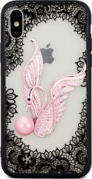 Beline Etui Lace 3D Galaxy S9 swan