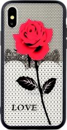 Beline Etui Lace 3D Galaxy S9 rose