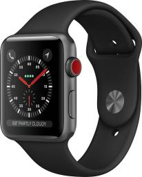 Smartwatch Apple Watch Series 3 GPS Szary  (MTH22MP/A)
