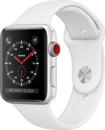 Smartwatch Apple Watch Series 3 GPS Biały  (MTH12MP/A)