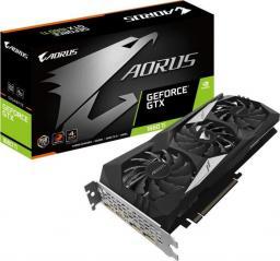 Karta graficzna Gigabyte Aorus GeForce GTX 1660Ti 6GB GDDR6 (GV-N166TAORUS-6GD)