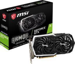 Karta graficzna MSI GeForce GTX 1660 ARMOR 6G OC, 6GB GDDR5 (GeForce GTX 1660 ARMOR 6G OC)