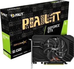 Karta graficzna Palit GeForce GTX 1660 StormX 6GB GDDR5 (NE51660018J9-165F)