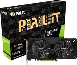 Karta graficzna Palit GeForce GTX 1660 Dual OC 6GB GDDR5 (NE51660S18J9-1161A)