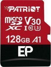 Karta Patriot MicroSDXC EP Series 128GB V30, A1, U3 up to 100MB/s (PEF256GEP31MCX)