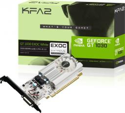 Karta graficzna KFA2 GeForce GT 1030 EX White Low Profile 2GB GDDR5 (30NPH4HVQ5EK)