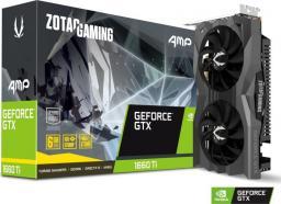 Karta graficzna Zotac GeForce GTX 1660Ti AMP Edition 6GB GDDR6 (ZT-T16610D-10M)