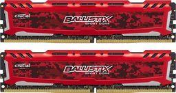 Pamięć Ballistix Ballistix Sport LT, DDR4, 16 GB,3200MHz, CL16 (BLS2K8G4D32AESEK)