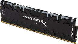 Pamięć Kingston HyperX Predator, DDR4, 16 GB,3000MHz, CL15 (HX430C15PB3AK2/16)