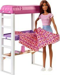 Barbie Mebelki i lalka zestaw z sypialnią (DVX51/FXG52)