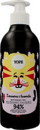 Yope Naturalny żel pod prysznic dla dzieci Żurawina &amp Lawenda 400ml