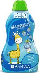 BARWA Bebi Kids Shampoo & Bubble Bath 2w1 Blueberry 380ml