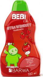 BARWA Bebi Kids Shampoo & Bubble Bath 2w1 Strawberry 380ml