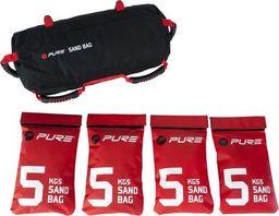 Pure2Improve Worek treningowy Sandbag 20kg czarny