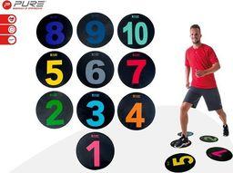 Pure2Improve Znaczniki pola numerowane Pure Spots Trainer