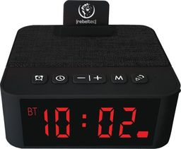 Głośnik Rebeltec SoundClock 120 czarny (RBLGLO00034)