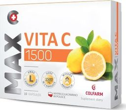 Colfarm COLFARM_Max Vita C 1500 suplement diety 10 kapsułek