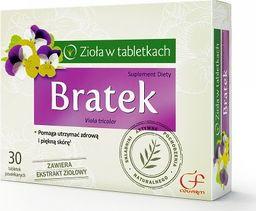Colfarm Zioła w tabletkach Bratek 30 tabletek