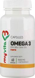MYVITA MYVITA_Omega 3 Forte 1000mg suplement diety 60 kapsułek
