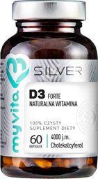 MYVITA MYVITA_Silver Biotyna Forte 2500µg 100% czysty suplement diety 60 kapsułek