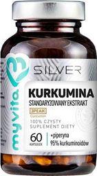 MYVITA MYVITA_Silver Kurkumina 100% czysty suplement diety 60 kapsułek