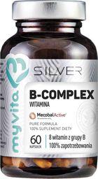 MYVITA MYVITA_Silver Witamina B Complex 100% czysty suplement diety 60 kapsułek