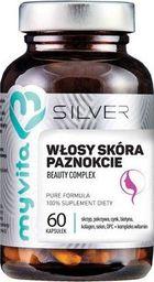 MYVITA MYVITA_Silver Włosy Skóra Paznokcie suplement diety 60 kapsułek