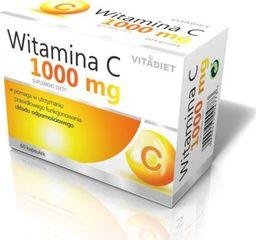 Vitadiet VITADIET_Witamina C 1000mg suplement diety 60 kapsułek