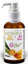 Vitadiet Witamina D3 2000IU + K2 50µg suplement diety 30ml